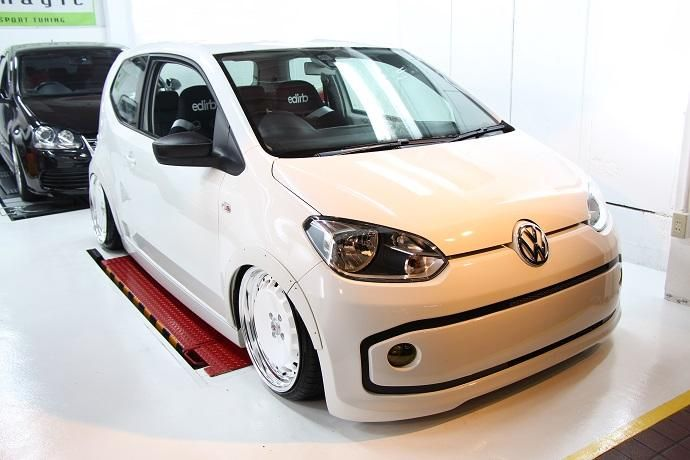 Tuning Voomeran Bodykit VW UP 6 Volles Programm   Voomeran tunt den kleinen VW UP