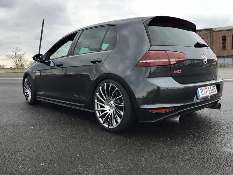 VW Golf 7 GTI Performance Tomason TN16 19 Zoll Tuning 6 VW Golf 7 GTI Performance auf Tomason TN16 Alu's
