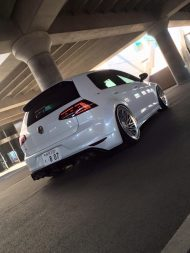 VW Golf 7R Widebody Vossen LC 106T Hamana Tuning 1 190x253 VW Golf 7R Widebody & Vossen Wheels by Hamana Tuning