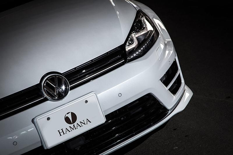 VW Golf 7R Widebody Vossen LC 106T Hamana Tuning 13 VW Golf 7R Widebody & Vossen Wheels by Hamana Tuning