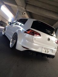 VW Golf 7R Widebody Vossen LC 106T Hamana Tuning 2 190x253 VW Golf 7R Widebody & Vossen Wheels by Hamana Tuning