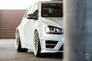 VW Golf 7R Widebody Vossen Wheels LC 105T Hamana Tuning 4 190x127 VW Golf 7R Widebody & Vossen Wheels by Hamana Tuning