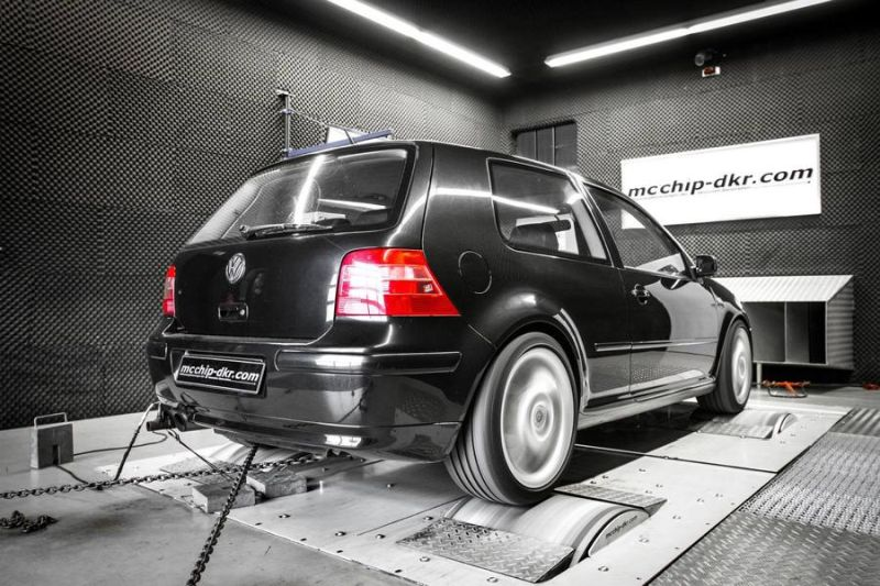 VW Golf IV 1.8T 190PS 290NM Chiptuning Mcchip DKR SoftwarePerformance 4 VW Golf IV 1.8T mit 190PS & 290NM by Mcchip DKR SoftwarePerformance