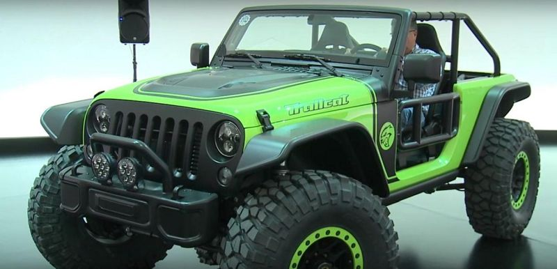 Verr%C3%BCckt 707PS Jeep Trailcat mit Hellcat V8 Power 4 Video: Verrückt   707PS Jeep Trailcat mit Hellcat V8 Power