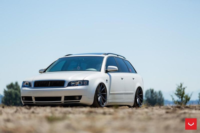 vossen wheels cvt alufelgen am audi a4 b6 avant. Black Bedroom Furniture Sets. Home Design Ideas