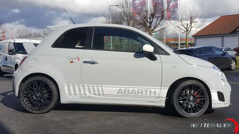 Wetterauer Engineering Fiat 500 Abarth Chiptuning 165PS 255NM 3 Wetterauer Engineering Fiat 500 Abarth mit 165PS & 255NM