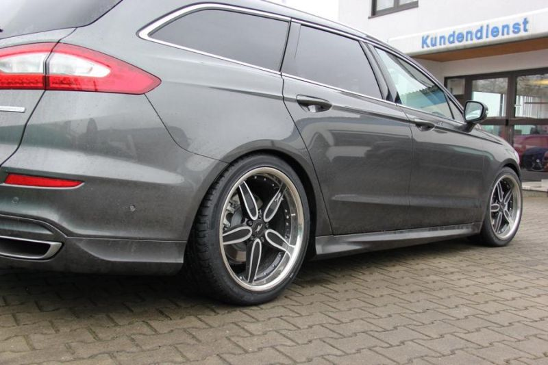 Wolf Racing Tuning Ford Mondeo Turnier 2 Dezent   Wolf Racing tunt den Ford Mondeo Turnier