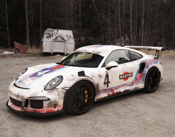 WrapZone Martini Livery Porsche 911 991 GT3 RS Tuning 7 Verrückt   WrapZone Martini Livery Porsche 911 (991) GT3 RS