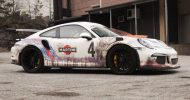 WrapZone Martini Livery Porsche 911 991 GT3 RS Tuning Folierung 5 190x100 Verrückt   WrapZone Martini Livery Porsche 911 (991) GT3 RS