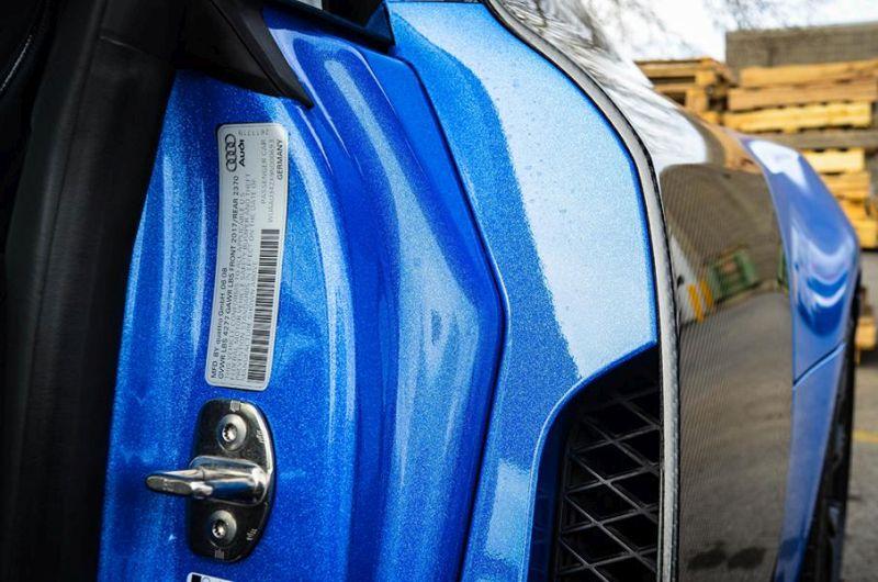 ZR Auto Audi R8 V8 Avery shimmer Blau Folierung Tuning 13