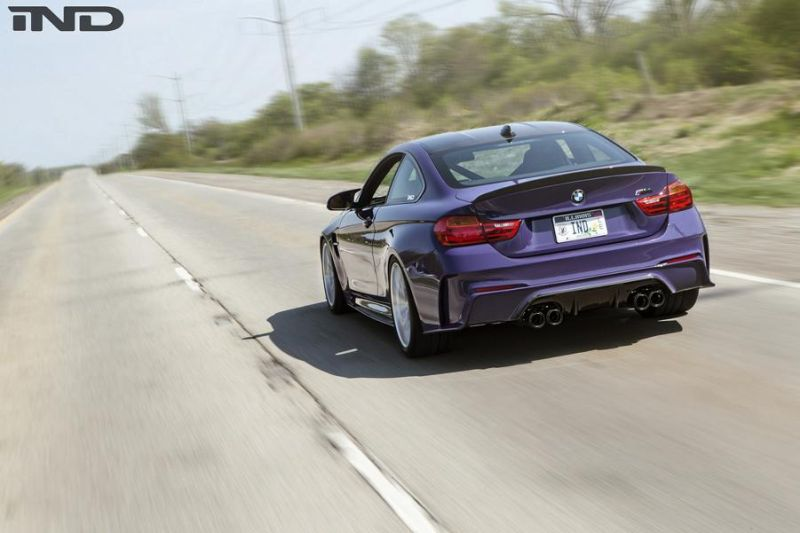 iND Distribution BMW M4 F82 Coupe Unikat BBS Tuning 1