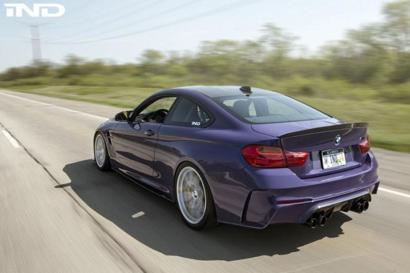 iND Distribution BMW M4 F82 Coupe Unikat BBS Tuning 2