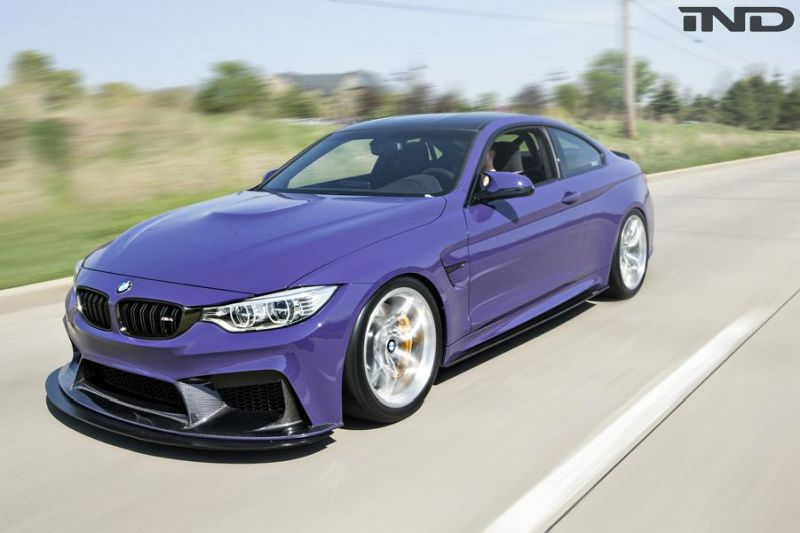 iND Distribution BMW M4 F82 Coupe Unikat BBS Tuning 4