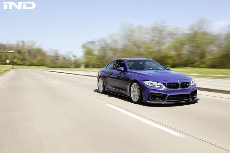 iND Distribution BMW M4 F82 Coupe Unikat BBS Tuning 6