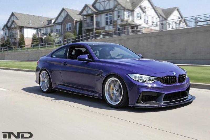 iND Distribution BMW M4 F82 Coupe Unikat BBS Tuning 7