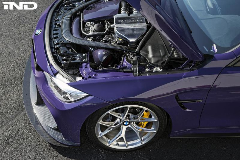 iND Distribution BMW M4 F82 Coupe Unikat BBS Tuning 9