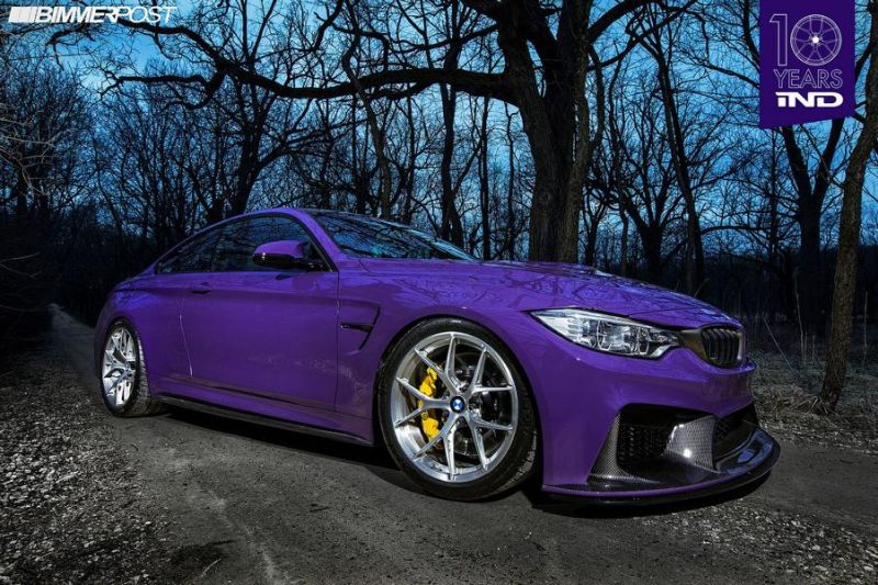 iND Distribution BMW M4 F82 Coupe Unikat Tuning 2 Zum Jubiläum   iND Distribution BMW M4 F82 Coupe