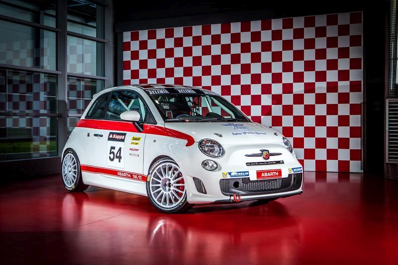 abarth 595 ot race car mit k fig 190ps und oz alufelgen. Black Bedroom Furniture Sets. Home Design Ideas