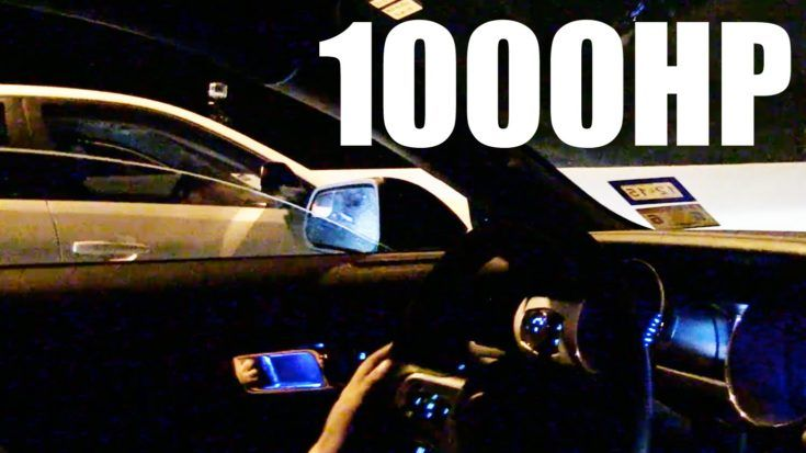 1.000PS Ford Mustang vs. 2016er Cadillac CTS V 1 Video: Dragerace   1.000PS Ford Mustang vs. Cadillac CTS V