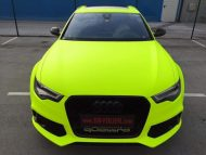 12670504 730546087087249 5223923329442306199 n 190x143 Fluorescent Neon Folierung am Audi RS6 C7 Avant by BB Folien