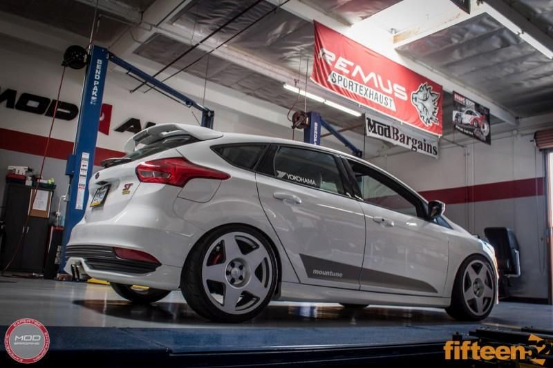 18 Zoll FIFTEEN52 Tarmac Mountune ModBargains Ford Focus ST Tuning 6