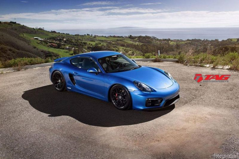 19 Zoll HRE FF01 Tag Motorsports Porsche Cayman GTS Tuning 1 19 Zoll HRE FF01 Alu's am Tag Motorsports Porsche Cayman GTS