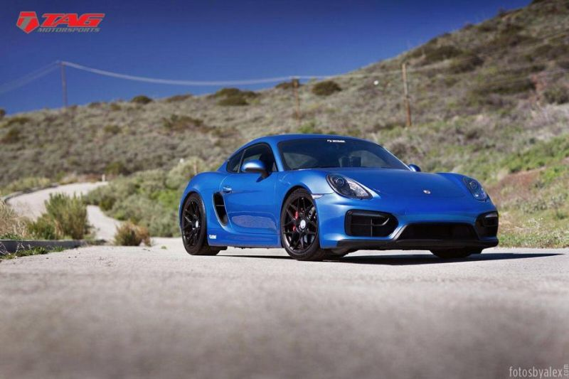 19 Zoll HRE FF01 Tag Motorsports Porsche Cayman GTS Tuning 3 19 Zoll HRE FF01 Alu's am Tag Motorsports Porsche Cayman GTS