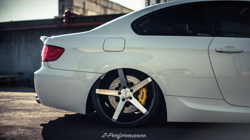 20 Zoll Z Performance Wheels BMW E92 3er Coupe ZP6.1 Tuning 3 20 Zoll Z Performance Wheels am BMW E92 3er Coupe