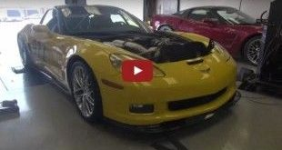 2009 Lingenfelter C6 Corvette ZR1 mit 1.400PS 1 e1460172439319 310x165 Video: 800 PS Lingenfelter Cadillac CTS V auf der Rolle