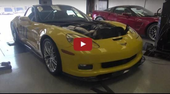 2009 Lingenfelter C6 Corvette ZR1 mit 1.400PS Video: 2009 Lingenfelter C6 Corvette ZR1 mit 1.400PS