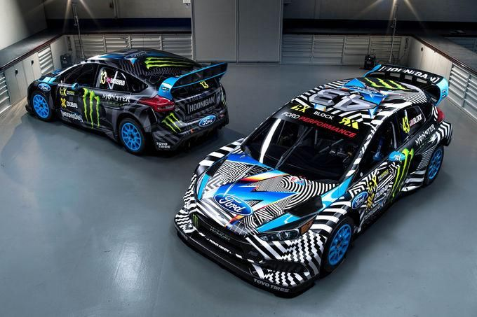 2016er Ford Focus RS RX By Hoonigan Racing M Sport Tuning Performance 1 Yeeeear   2016er Ford Focus RS RX By Hoonigan Racing