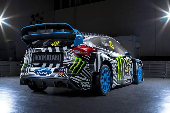 2016er Ford Focus RS RX By Hoonigan Racing M-Sport Tuning Performance 6