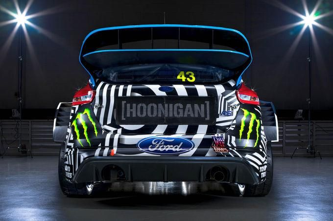 2016er Ford Focus RS RX By Hoonigan Racing M-Sport Tuning Performance 7