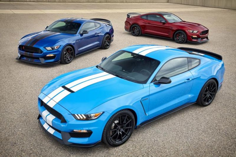 2017er Ford Mustang Shelby GT350 Tuning 3 2017er Ford Mustang Shelby GT350 mit neuen Farben