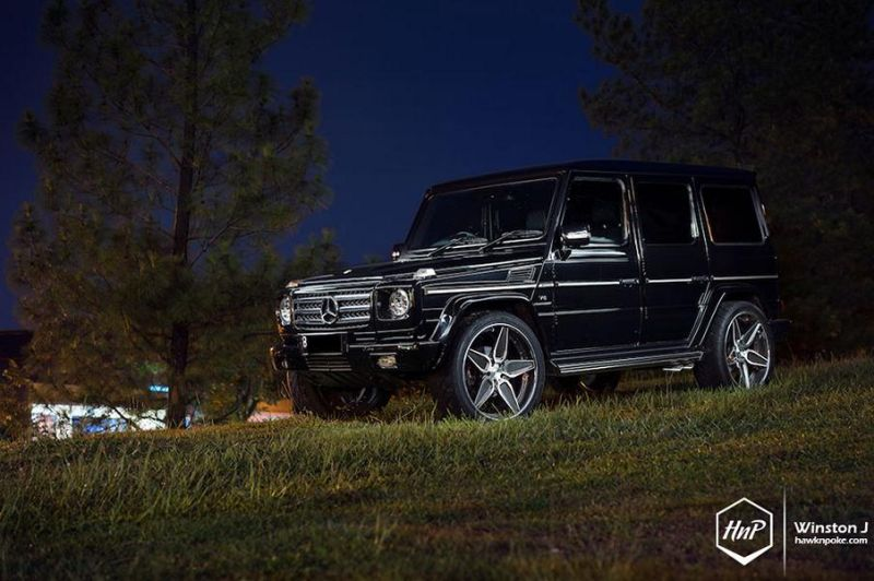 24 Zoll ADV.1 Wheels ADV5S Mercedes Benz G55 AMG Tuning 1 24 Zoll ADV.1 Wheels ADV5S am Mercedes Benz G55 AMG