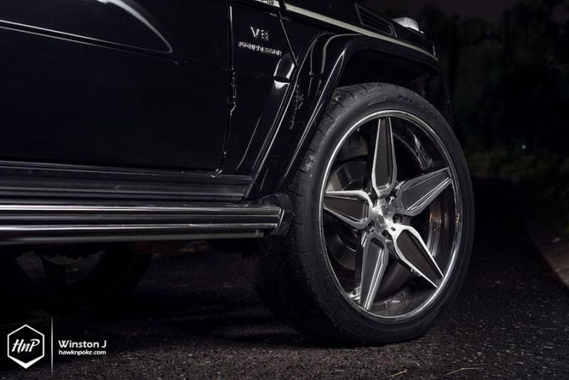 24 Zoll ADV.1 Wheels ADV5S Mercedes-Benz G55 AMG Tuning 18