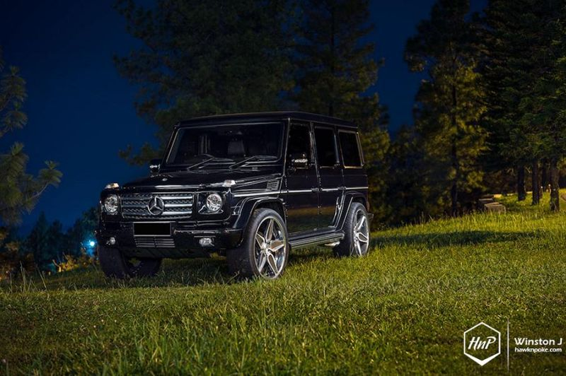24 Zoll ADV.1 Wheels ADV5S Mercedes-Benz G55 AMG Tuning 4