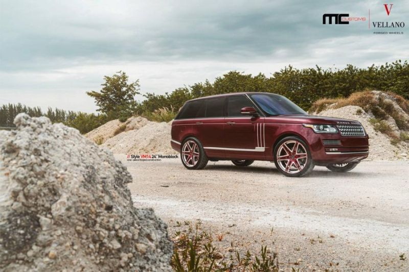 24 Zoll Vellano Range Rover Tuning MC Customs 2 24 Zoll Vellano VM18 Alufelgen am Range Rover Sport