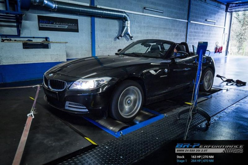 264PS BMW Z4 E89 20i 2.0T BR Performance Chiptuning 1 Deutlich   264PS im BMW Z4 E89 20i 2.0T by BR Performance