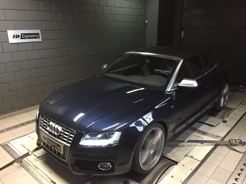 467PS 576NM JD Engineering Audi A5 S5 Cabrio Tuning 3 467PS & 576NM im JD Engineering Audi A5 S5 Cabrio