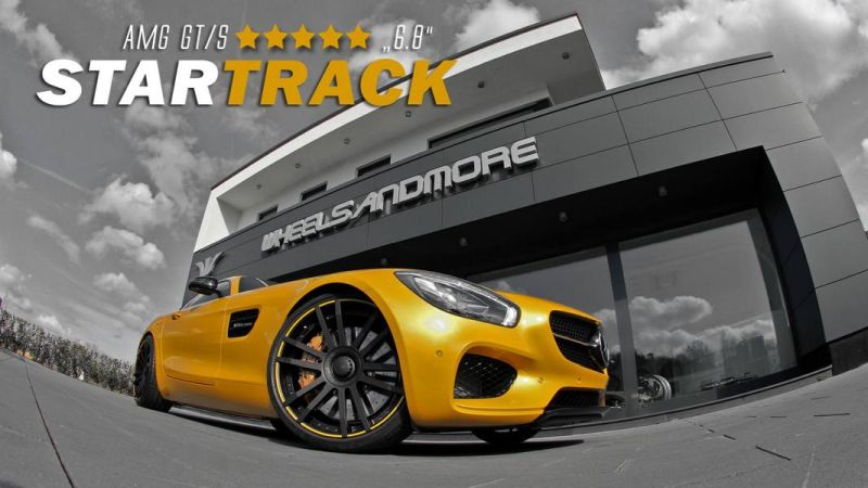 626PS Mercedes AMG GT S Startrack 6.3 Wheelsandmorge Tuning 1 626PS &770NM im Mercedes AMG GT S Startrack 6.3 by WAM