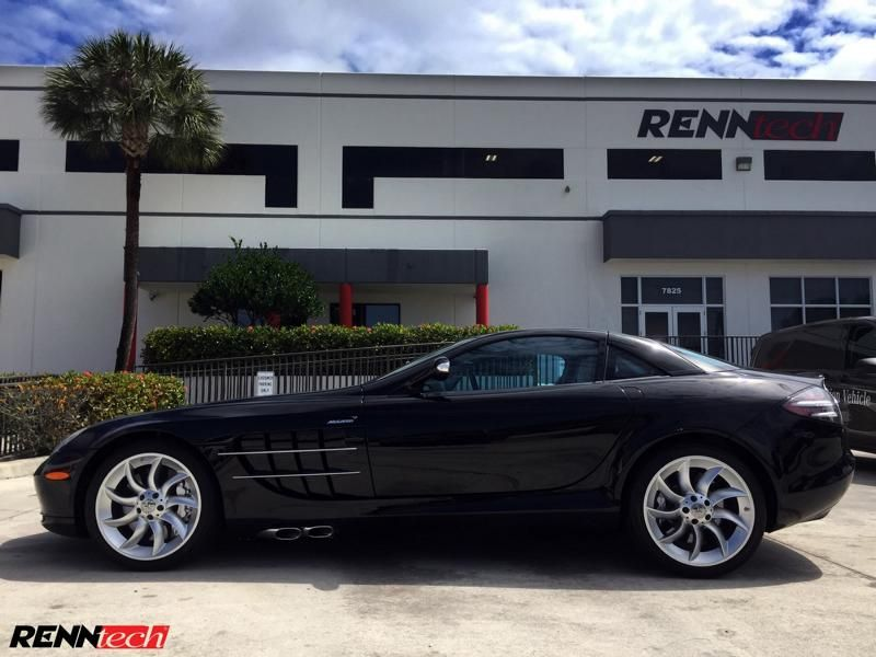 748PS & 748 lb-ft Mercedes SLR McLaren Chiptuning RENNtech 3