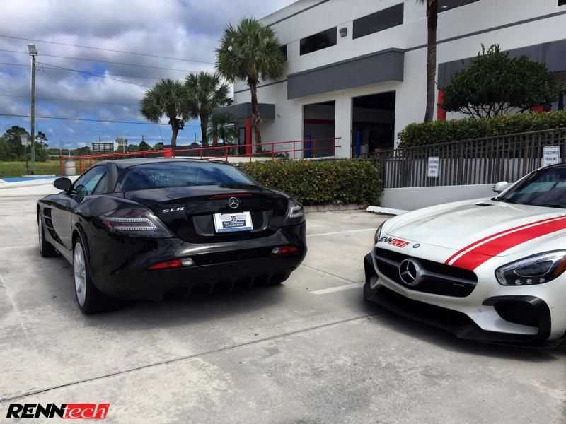 748PS & 748 lb-ft Mercedes SLR McLaren Chiptuning RENNtech 5