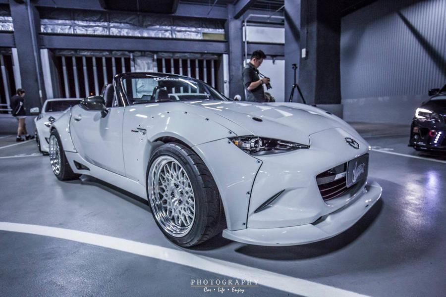 Aimgain Mazda MX 5 Widebody Kit 1 Doppelte Breite   Aimgain Mazda MX 5 mit Widebody Kit