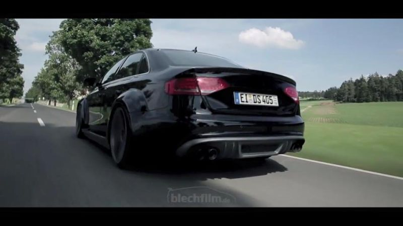 Audi A4 B8 RS4 Widebody Umbau auf mbDesign Alu%E2%80%99s Video: Audi A4 B8 RS4 Widebody Umbau auf mbDesign Alu's