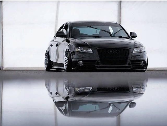 Audi A5 Rotiform Slammed Tuning Audi A4 mit Chrom Folierung / Wrapping by tuningblog.eu