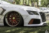 Audi A7 Tdi RS7 Rocket Bunny Kit Airride Tuning 3 190x127 Video: Ultra extrem   Audi A7 Tdi mit Rocket Bunny Kit & Airride