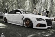 Audi A7 Tdi RS7 Rocket Bunny Kit Airride Tuning 5 190x127 Video: Ultra extrem   Audi A7 Tdi mit Rocket Bunny Kit & Airride