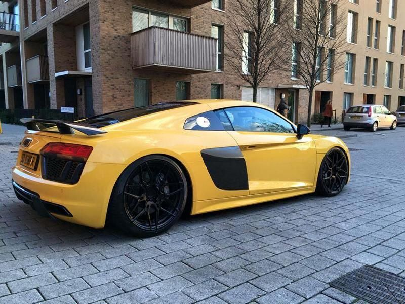 Audi R8 4S V10 Plus Tuning ADV.1 Wheels ADV.7 3