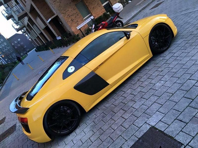 Audi R8 4S V10 Plus Tuning ADV.1 Wheels ADV.7 4